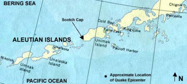 Hawaiin Islands Earthquake