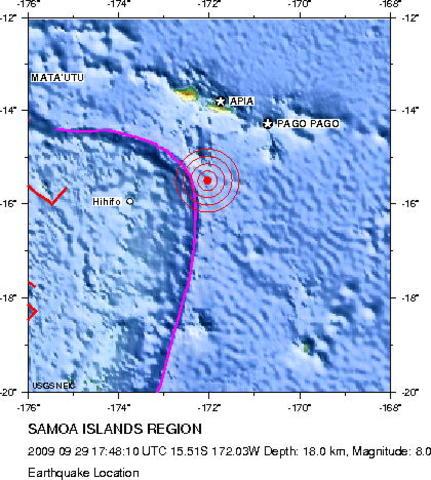 2009 Samoa earthquake