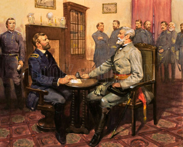 Civil War (1861-1865) ends, beginning of Reconstruction Era/Industrial Revolution/Gilded Age