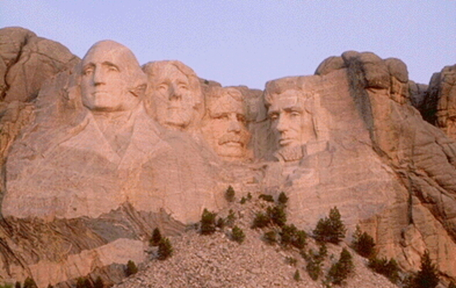 """Mount Rushmore was """"completed"""""""