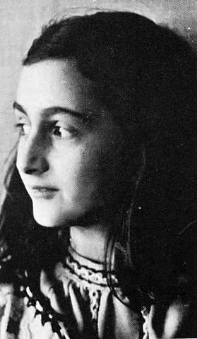Anne Frank goes into hiding