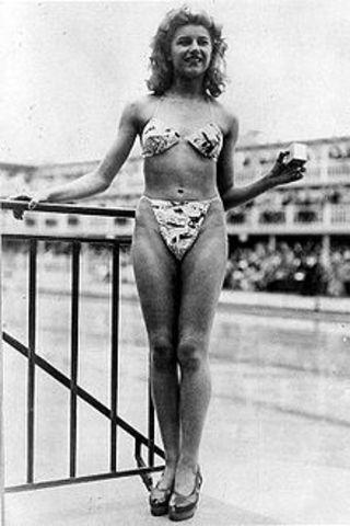 Bikinis were introduced