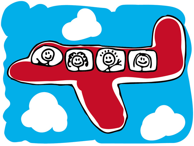 First Non stop flight around the world