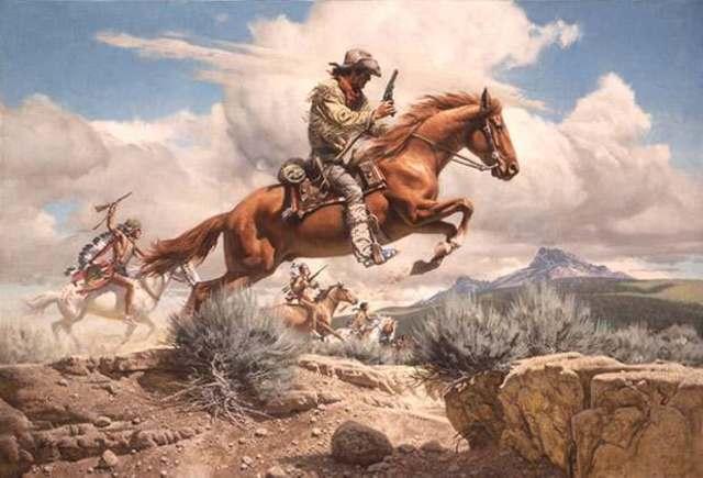 Pony Express' first trip!