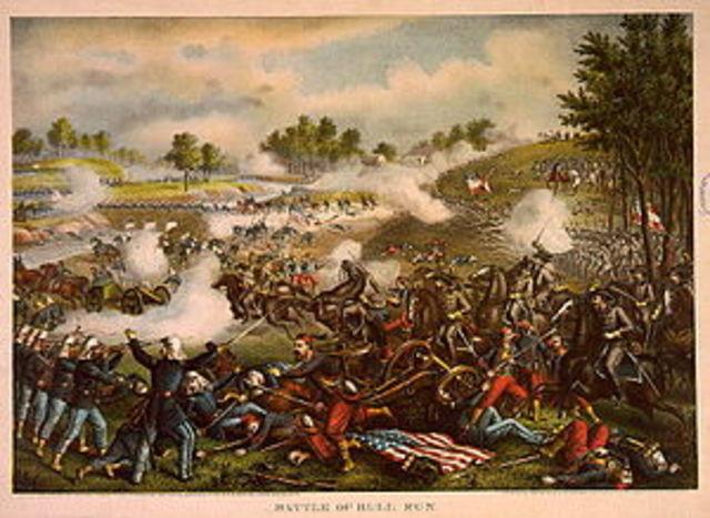 First Battle of Bull Run aka First Manassas