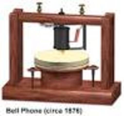 Bell invents the telephone!