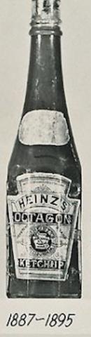 Heinz Ketchup Bottle 1887