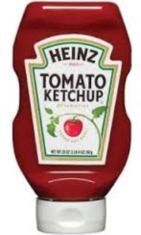 Heinz Ketchup is Upside Down