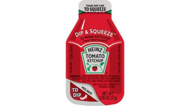 Heinz Ketchup Dip N' Squeese Packets