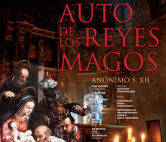 """Auto de los Reyes Magos """"Anónimo"""""""