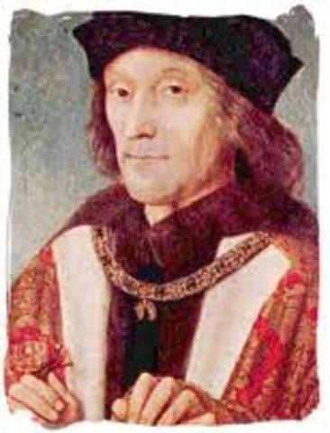 Reinado de Enrrique VII de englaterra.