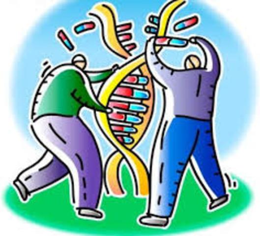 Primer borrador de la secuencia del genoma humano.