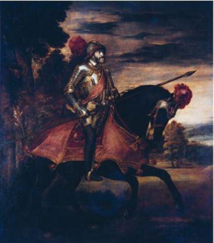 Carlos I se le corona rey de España