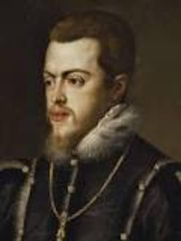 la muerte de Felipe II