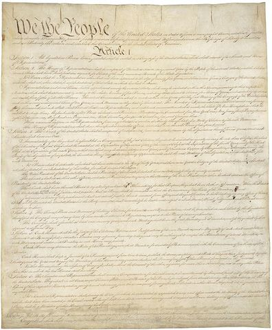 Constitution is Ratified
