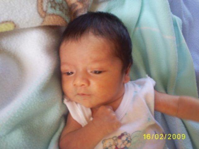 el nacimiento de mi sobrino