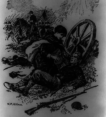Aid to Soldier on Battlefield