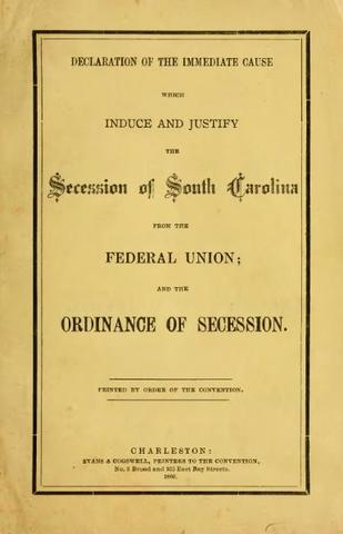 South Carolina's Own Declaration