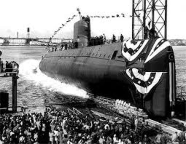 First Nuclear Powered Submarine
