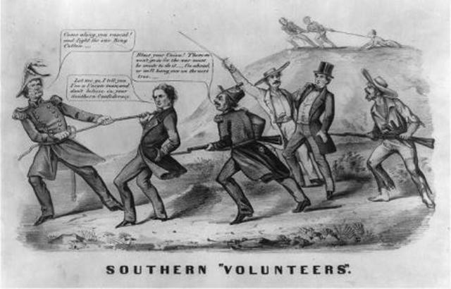 Conscription in the South