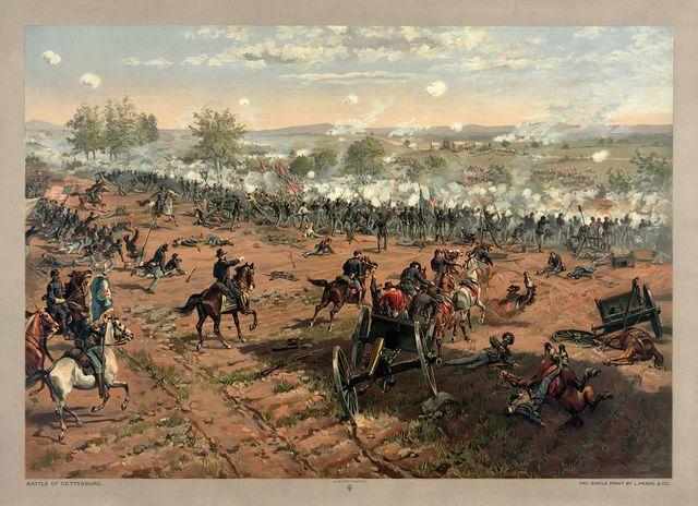 Day 1 of Gettysburg