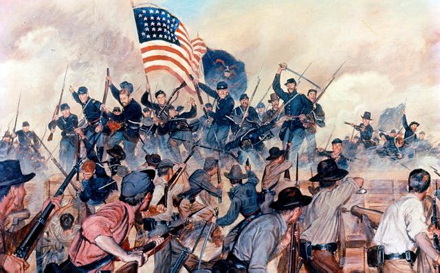 Surrendering at Vicksburg