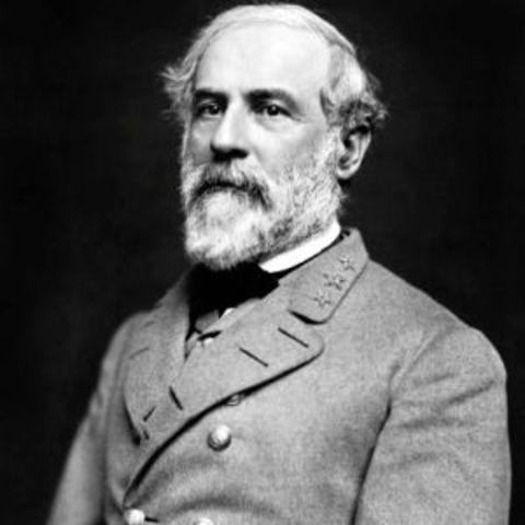 Robert E. Lee Resigns