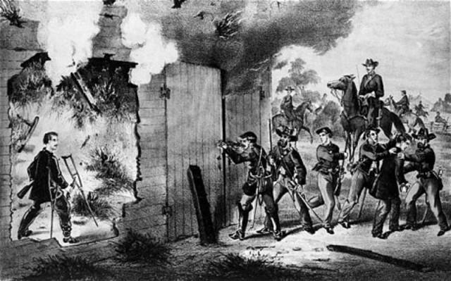 John Wilkes Booth Dies