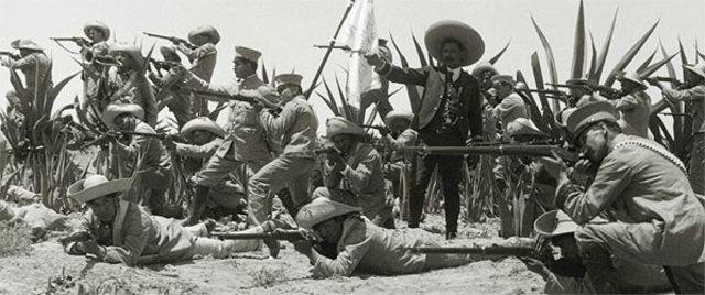 Incia la lucha armada contra Porfirio Díaz