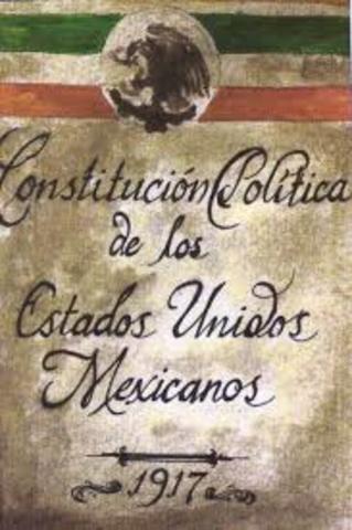 Constitución  Mexicana  de los Estados Unidos