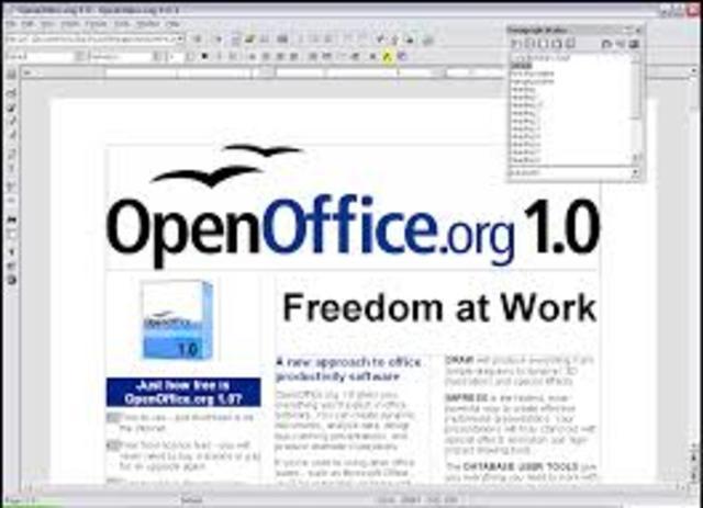 versión 1.0 de OpenOffice.org
