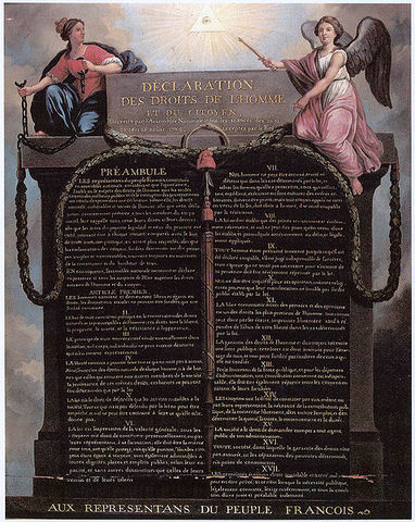 The Declaration of the Rights of Man & Citizen
