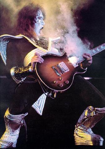 Gibson Les Paul/Smoking Guitar