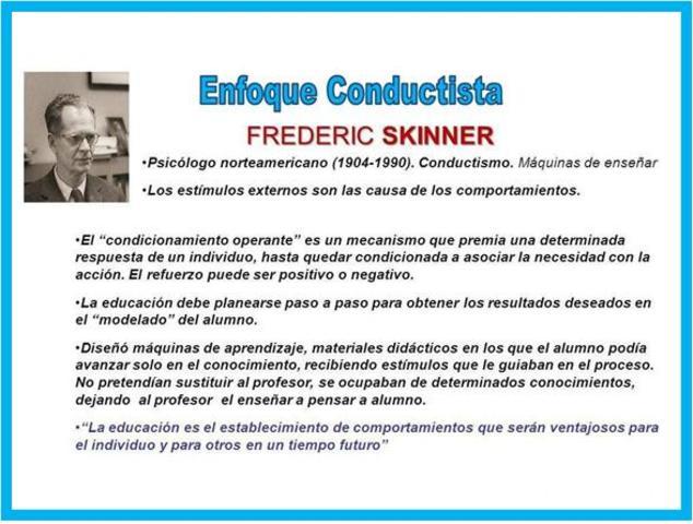 B.F. Skinner: Análisis de las respuestas