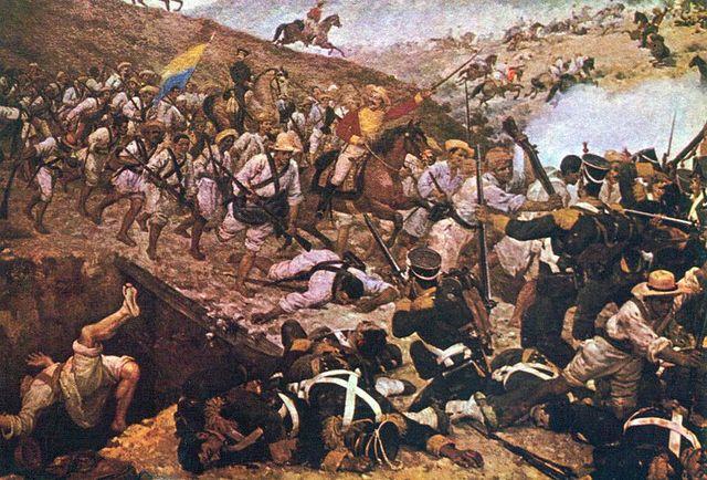 Independencia De La Nueva Granada