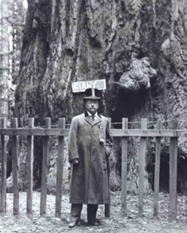 Teddy Roosevelt Creates System of National Parks