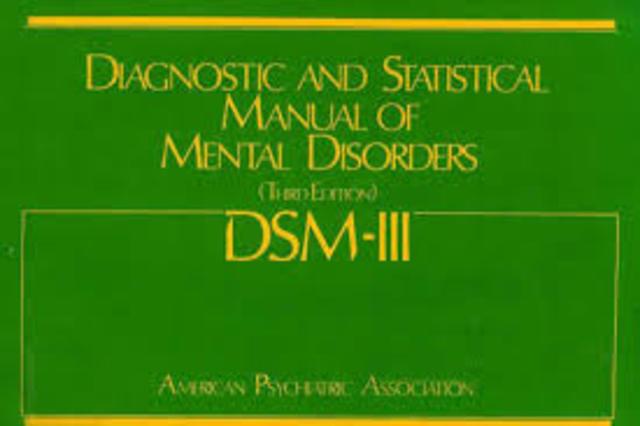 Publicación del DSM-III
