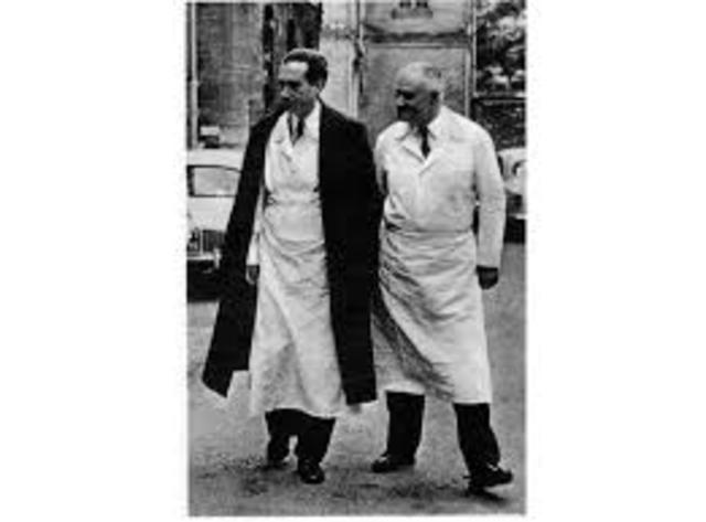 Jean Delay y Pierre Deniker