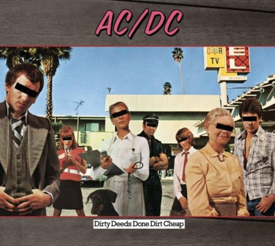 3nd album (Dirty Deeds Done Dirt Cheap