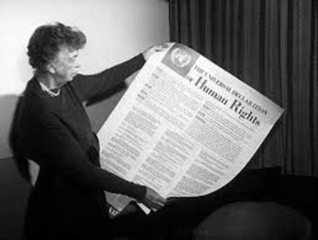 Declaracion Universal de los Derchos Humanos.