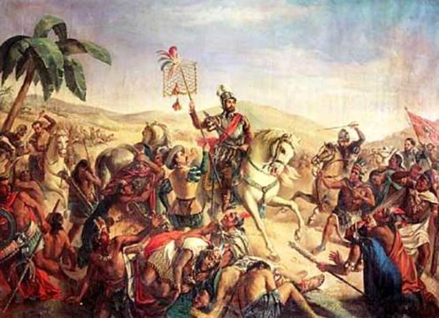 Cortes takes over the Aztec Empire