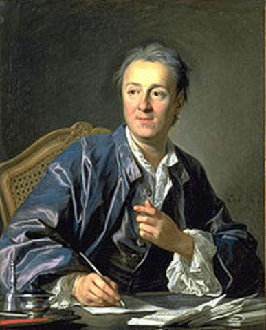 "Diderot publica ""La Enciclopedia"""