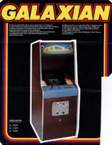 Graphics Chips (and the Namco Galaxian arcade system)