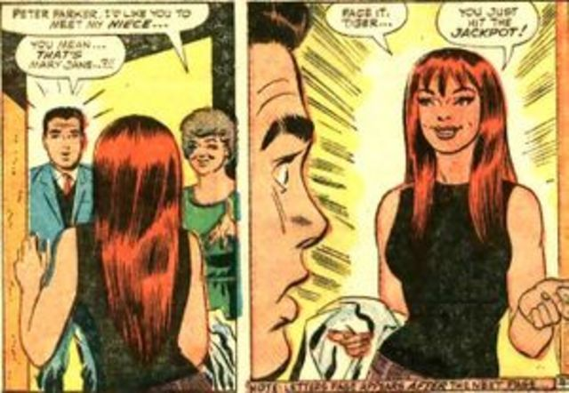 First Mary Jane Watson appearance