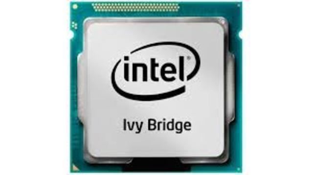 2012: El Intel Core Ivy Bridge