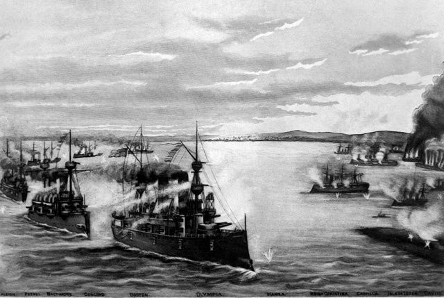 The Philippines during the Spanish-American War