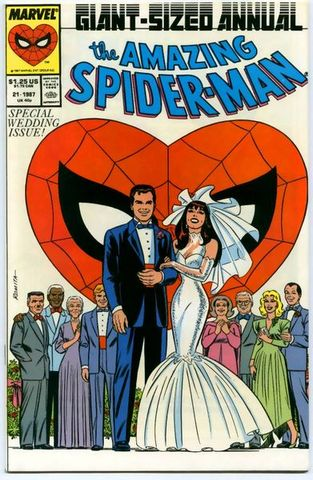 Peter Parker gets married to MJ
