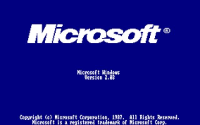 1988 WINDOWS 2.03