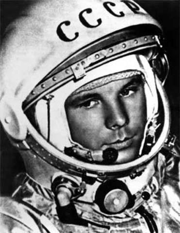Soviet Man travels in Space