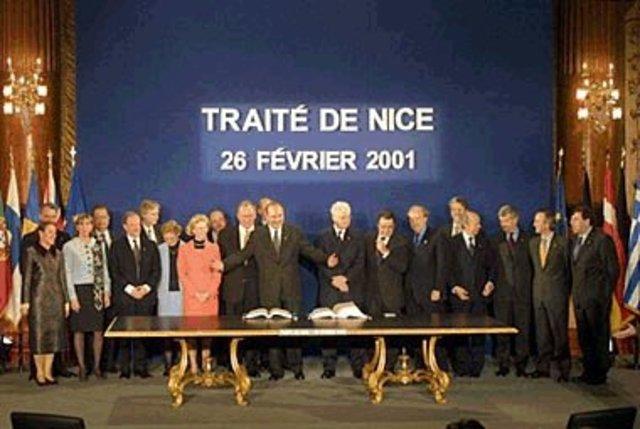 NIce treaty came into force